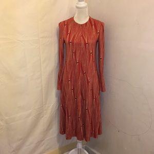 Vintage Diane Von Furstenberg Long Sleeve Sz 10